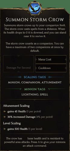 SummonStormCrow Root