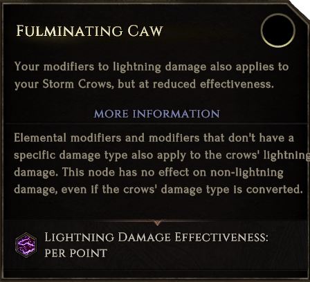 SummonStormCrow FulminatingCaw