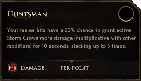 SummonStormCrow Huntsman